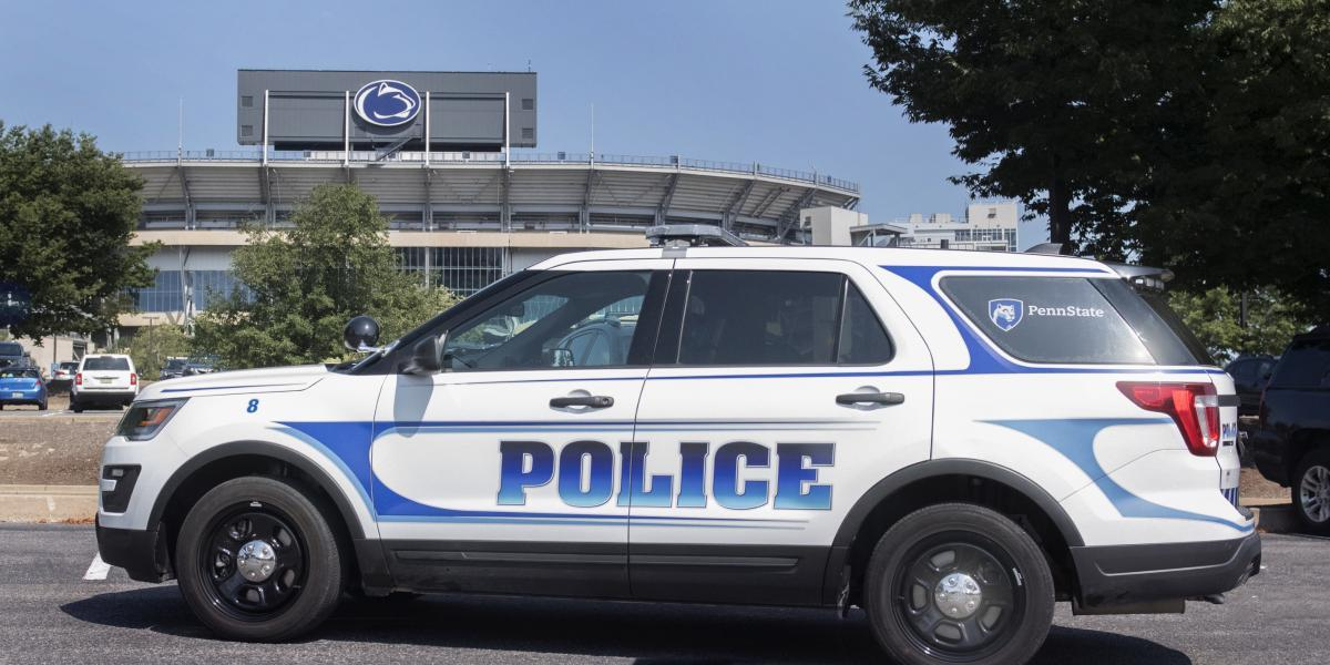 Penn State Police Vehicle