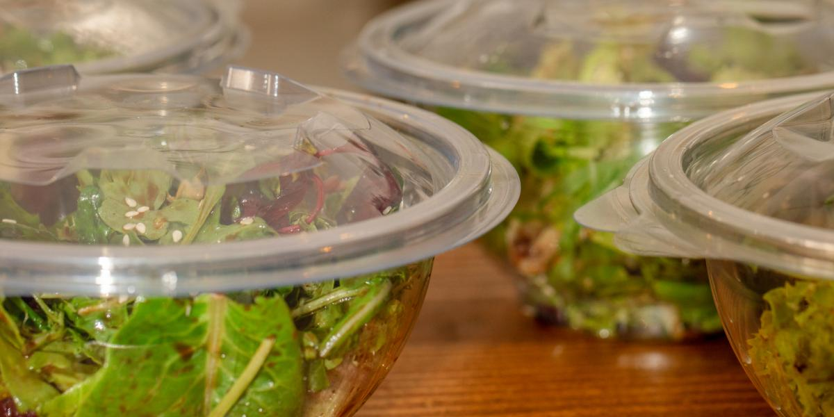 Containers of Salad