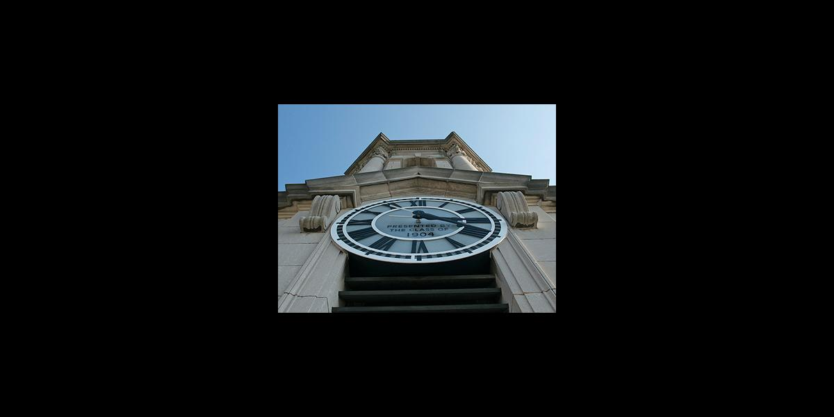 Old Main Tower Clock
